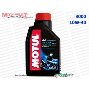 Bajaj Motul 3000 10W-40 4T Motosiklet Yağı - 1 LT