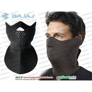 Sürücü Neopren Yüz Maskesi, Uzun