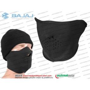 Sürücü Neopren Yüz Maskesi, Yarım