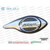 Bajaj Avenger Street 150 Benzin Deposu (Yakıt) Etiketi, Orta Amblemi - SAĞ