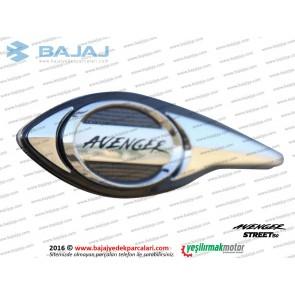 Bajaj Avenger Street 150 Benzin Deposu (Yakıt) Etiketi, Orta Amblemi - SOL