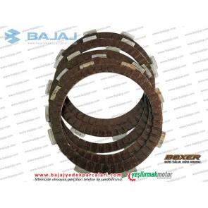 Bajaj Boxer BM150 Debriyaj Balatası Takımı