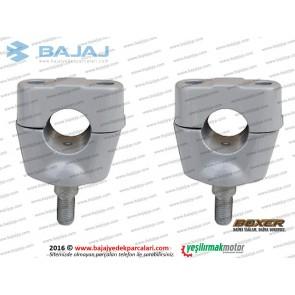 Bajaj Boxer BM150 Direksiyon Sabitleme Kelepçesi - Takım