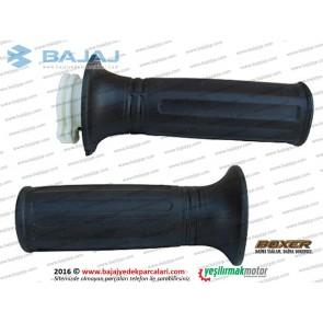 Bajaj Boxer BM150 Gaz Kolu ve Sol Elcik Takımı