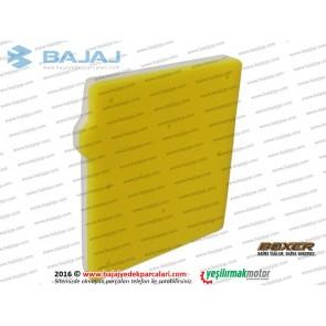 Bajaj Boxer BM150 Hava Filtresi Süngeri, Elemanı Komple