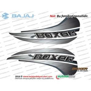 Bajaj Boxer BM150 Yakıt Deposu, Benzin Tankı Etiket Takımı