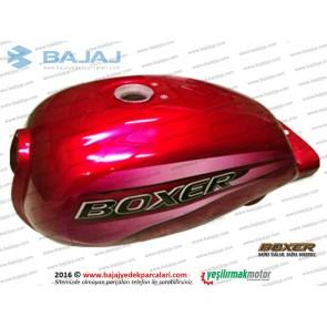 Bajaj Boxer BM150 Yakıt Deposu, Benzin Tankı - KIRMIZI
