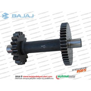 Bajaj Discover 150S Marş Motoru Dişlisi