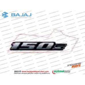 Bajaj Discover 150S Sele Altı Paneli, 150S Yazısı, Etiketi - 1 ADET