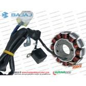 Bajaj Discover 150S Statör, Sargı