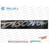 Bajaj Discover 150S Yakıt Deposu, Tankı Discover Yazısı, Etiketi - 1 ADET