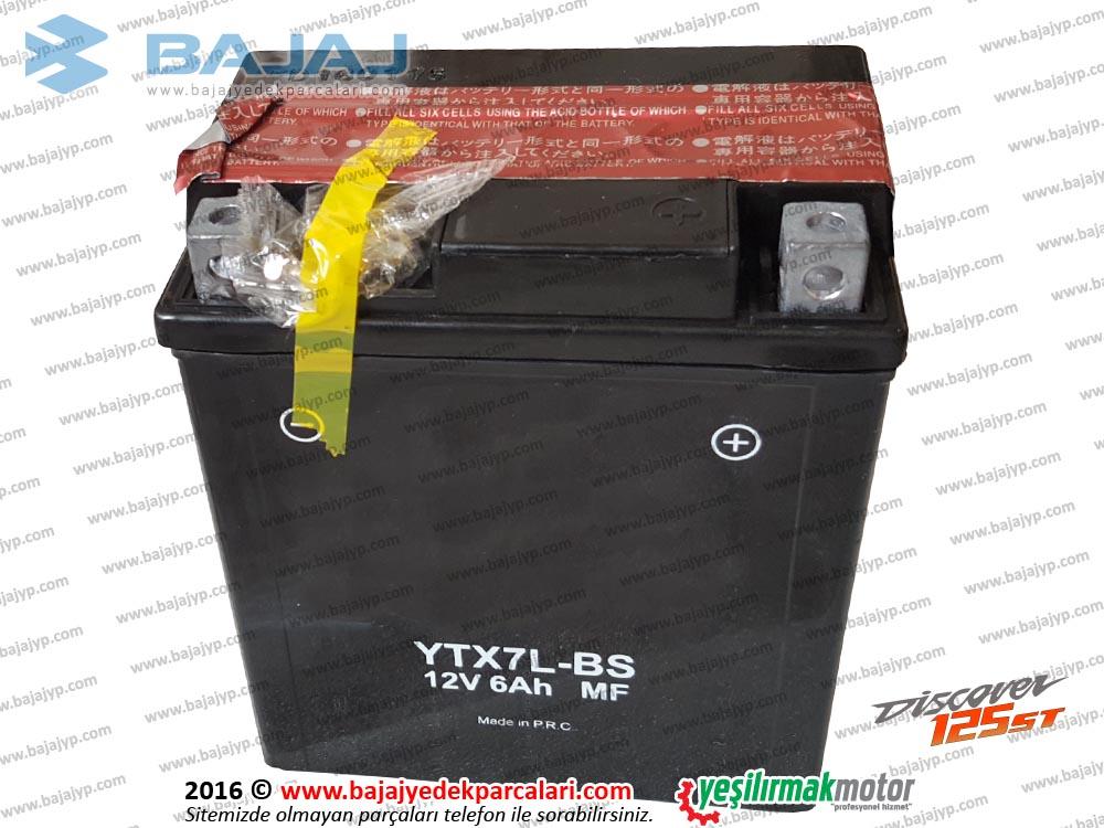 Bajaj Discover 125ST Akü 12V 7Ah - A Kalite