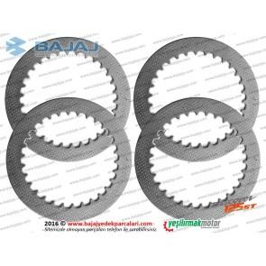Bajaj Discover 150F Debriyaj Balatası Ara Sacı - Set