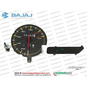 Bajaj Discover 125ST KM (Kilometre) İç Panel - Komple