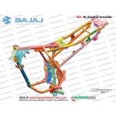 Bajaj Discover 125ST Şasesi