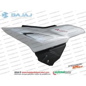 Bajaj Discover 125ST Yan Panel Kapak Sağ Taraf (Gümüş Renk)