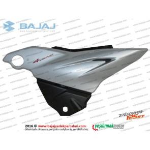 Bajaj Discover 125ST Yan Panel Kapak Sol Taraf (Gümüş Renk)