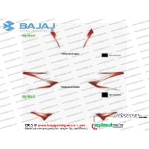 Bajaj Discover 150F Far Muhafazası Etiket Takımı