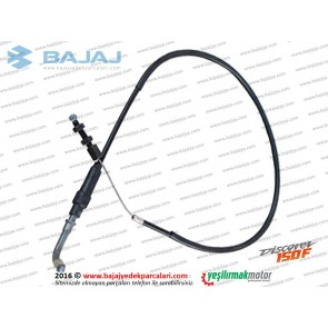 Bajaj Discover 150F Gaz Teli