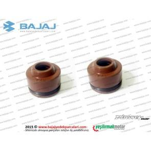 Bajaj Discover 150S Supap Yağ Lastiği Takımı - 2 ADET
