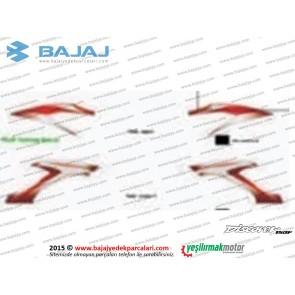 Bajaj Discover 150F Yakıt, Benzin Depo Etiket Takımı