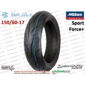 Bajaj Dominar 400 Arka Dubleks Lastik - MİTAS Sport Force+ 150/60-17