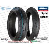 Bajaj Dominar 400 Arka ve Ön Teker Dubleks Lastik - MİTAS Sport Force+ takım
