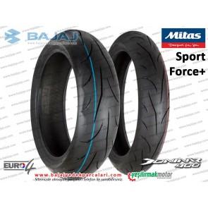 Bajaj Dominar 400 Arka ve Ön Teker Dubleks Lastik - MİTAS Sport Force+