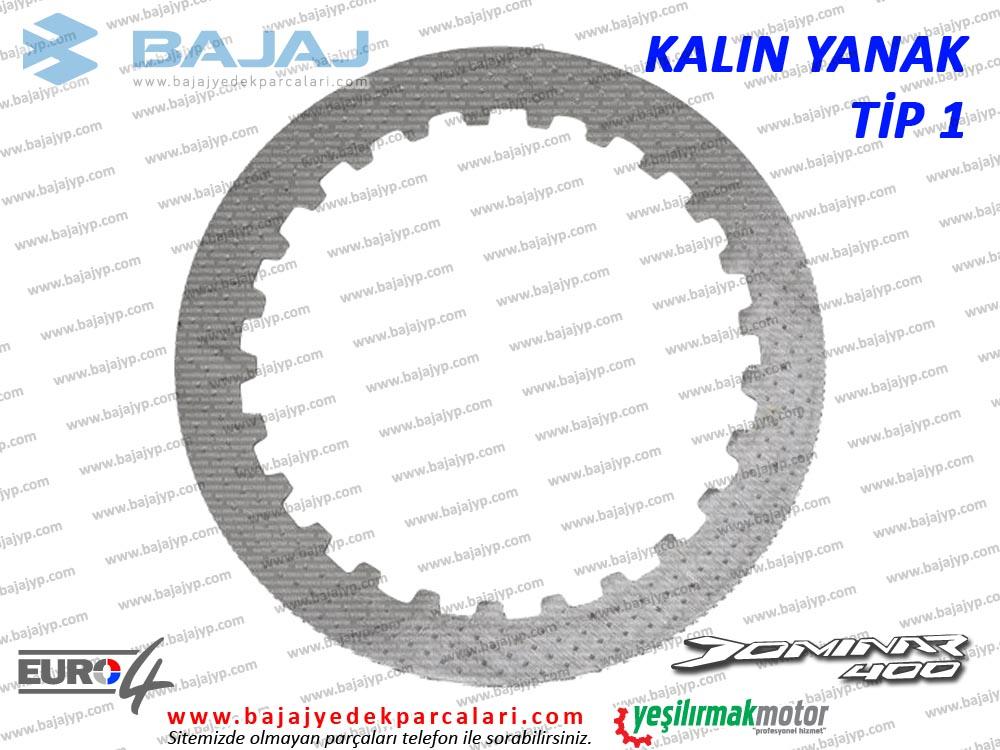 Bajaj Dominar 400 Debriyaj Balatası Ara Sacı - KALIN TİP - ADET