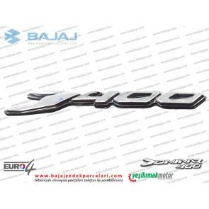 Bajaj Dominar 400 Sele Altı Paneli D400 Yazısı Etiketi