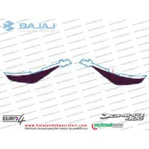 Bajaj Dominar 400 Sele Altı Paneli Etiket Takımı