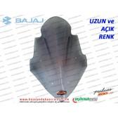 Bajaj Pulsar 200NS Siperlik Camı, UZUN, AÇIK RENK