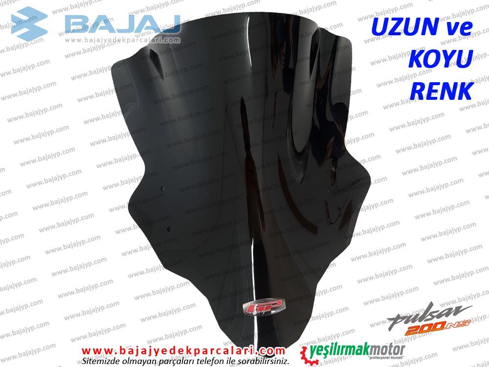 Bajaj Pulsar 200NS Siperlik Camı, UZUN, KOYU RENK