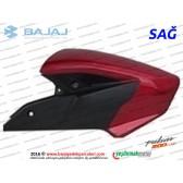 Bajaj Pulsar 200NS Yakıt, Benzin Depo Dekoratif Kapak Sağ - Kırmızı Tip 2
