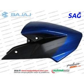 Bajaj Pulsar 200NS Yakıt, Benzin Depo Dekoratif Kapak Sağ - Mavi Tip 2
