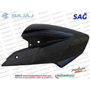 Bajaj Pulsar 200NS Yakıt, Benzin Depo Dekoratif Kapak Sağ - Siyah