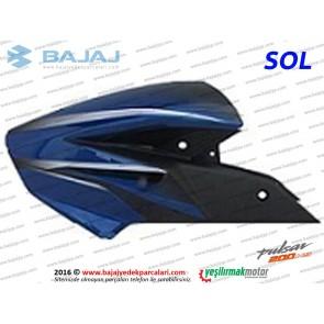 Bajaj Pulsar 200NS Yakıt, Benzin Depo Dekoratif Kapak Sol - Mavi Tip 1