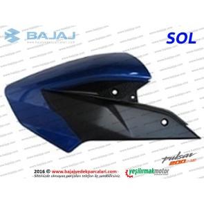 Bajaj Pulsar 200NS Yakıt, Benzin Depo Dekoratif Kapak Sol - Mavi Tip 2