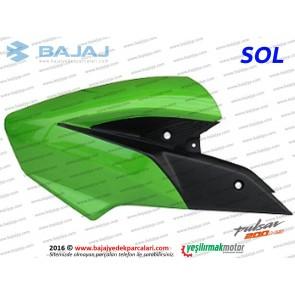 Bajaj Pulsar 200NS Yakıt, Benzin Depo Dekoratif Kapak Sol - Yeşil