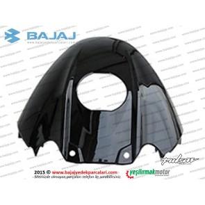 Bajaj Pulsar 200NS Yakıt, Benzin Depo Muhafaza Plastiği Ön Üst - Siyah