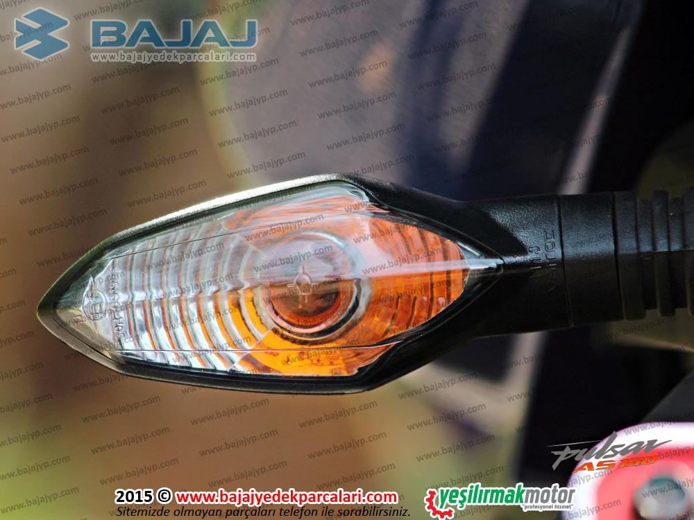 Bajaj Pulsar AS150 Arka Sinyal