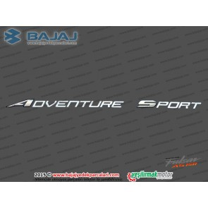 Bajaj Pulsar AS150 Yakıt Depo Dekoratif Kapak Etiketi, Adventure Sport - 1 ADET