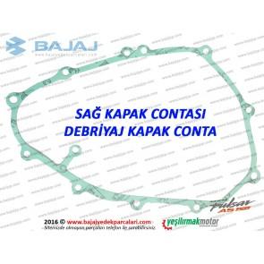 Bajaj Pulsar AS150 Şanzıman Sağ Kapak Contası, Debriyaj Kapağı