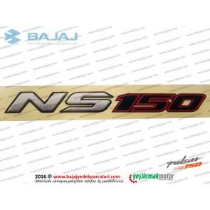 Bajaj Pulsar NS150 Sele Altı Etiketi, NS 150 Yazısı - 1 Adet