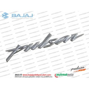 Bajaj Pulsar NS150 Yakıt Depo Etiketi, Pulsar Yazısı