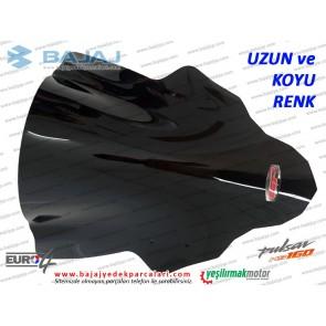 Bajaj Pulsar NS160 Siperlik Camı, UZUN, KOYU RENK