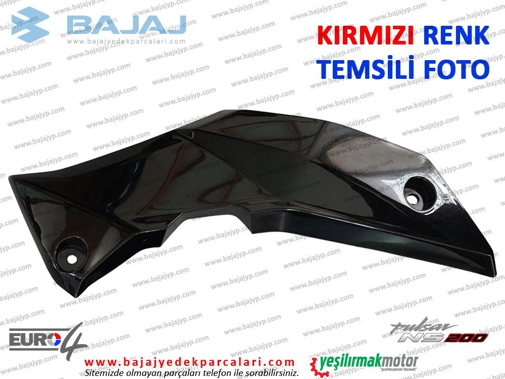 Bajaj Pulsar 200NS Alt Sakal, Dekoratif Kapak - SAĞ TARAF - KIRMIZI
