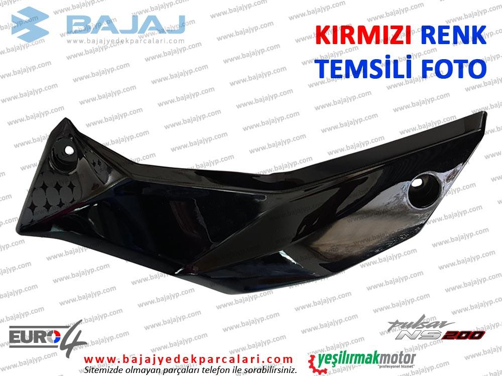 Bajaj Pulsar 200NS Alt Sakal, Dekoratif Kapak - SOL TARAF - KIRMIZI