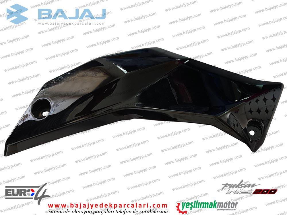 Bajaj Pulsar 200NS Alt Sakal, Dekoratif Kapak - SOL TARAF - SİYAH