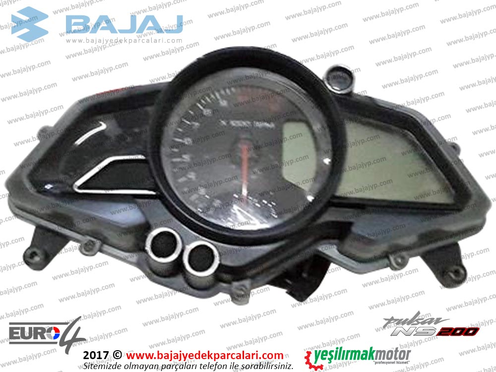 Bajaj Pulsar 200NS Gösterge, KM (Kilometre) Saati Komple - EURO4